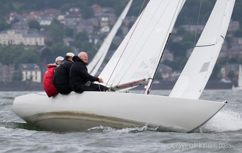 Diablo on day 1 of the Old Pulteney Mudhook Regatta photo copyright Neill Ross taken at Mudhook Yacht Club and featuring the Etchells class