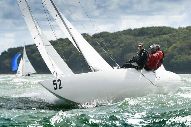 Etchells Jolly Roger on Cowes Week 2019 day 7 - photo © Paul Wyeth / CWL