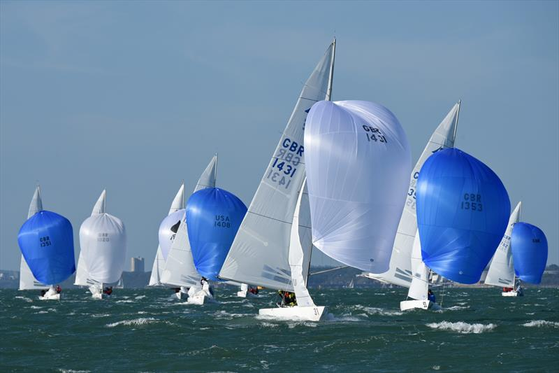 2020 Etchells British Nationals at Cowes - photo © Rick Tomlinson / www.rick-tomlinson.com