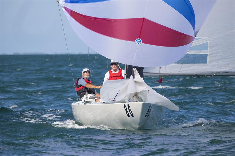 Tamm Ha Tamm (Christian Bollot, Philippe Charret, and James Heywood) on day 1 of the Etchells Australian Championship - photo © John Curnow