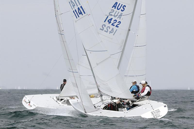 Close racing always assured with the Etchells. - photo © ajmckinnonphotography.com