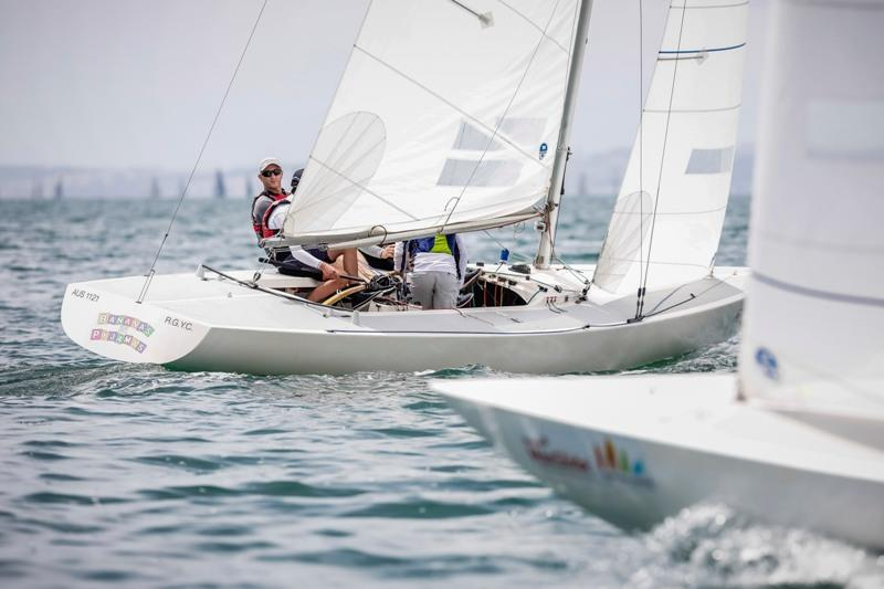 Bananas in Pyjamas wins International Etchells - 2020 MacGlide Festival of Sails - photo © Salty Dingo