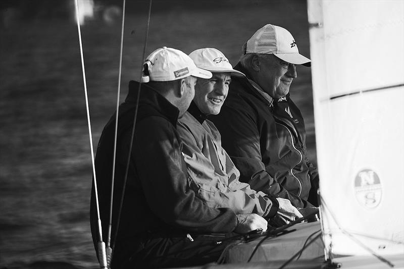 Reigning Etchells World Champions – Havoc – Iain Murray, Colin Beashel and Richie Allanson. photo copyright David Mandelberg taken at Royal Sydney Yacht Squadron and featuring the Etchells class