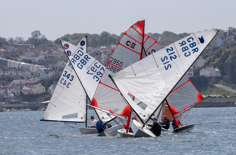 7th Paignton Open for Single Handers sponsored by Sailing Chandlery photo copyright Steve Cayley taken at Paignton Sailing Club and featuring the Europe class