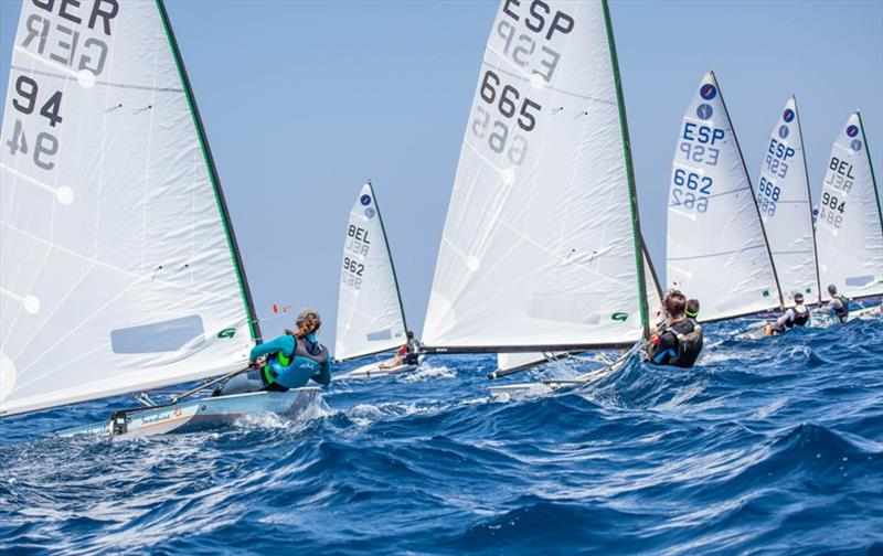 Europe Class Open Week fleet - photo © Laura Carrau