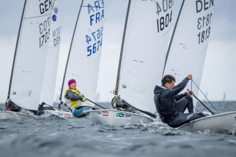 Anna Livbjerg was in a class of her own: The Danish won with 36 points ahead of second-placed Simon Christoffersen (Denmark) and Frenchman Cyril Richard. - photo © Sascha Klahn / Kieler Woche