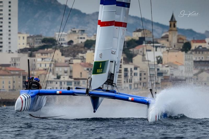 The final SailGP event of Season 1 in Marseille, France - Day 2 - photo © Sam Kurtul / www.worldofthelens.co.uk