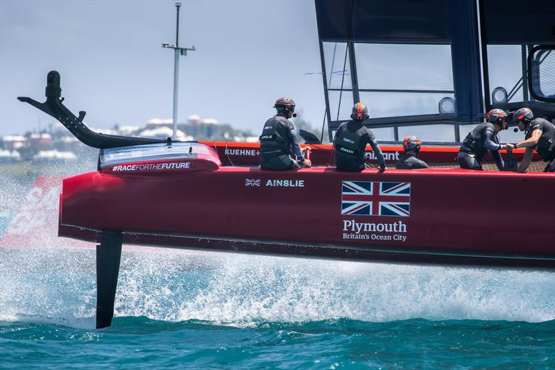 Bermuda SailGP presented by Hamilton Princess - photo © SailGP