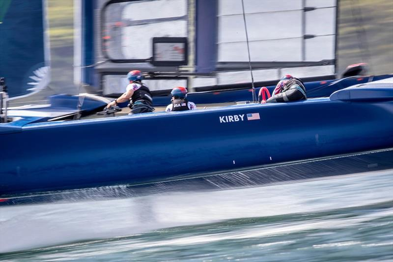 United States SailGP Team in action - photo © SailGP