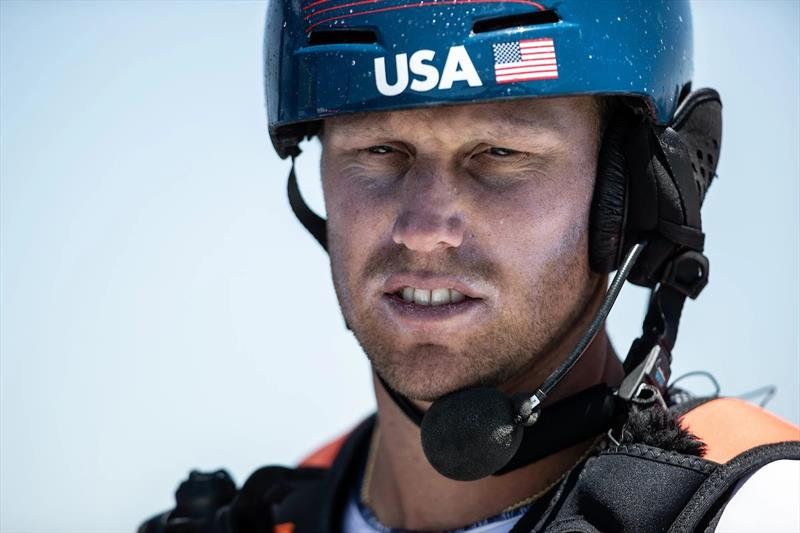 United States SailGP Team helm Rome Kirby. - photo © SailGP