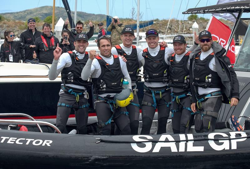 Australia SailGP Team at San Francisco SailGP - photo © Australia SailGP Team