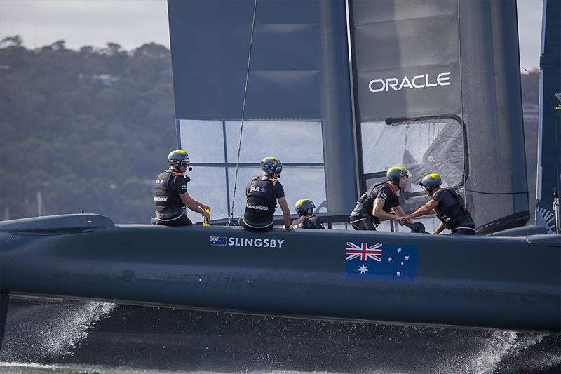 Team Australia come back from a poor first day to make the final in Sydney. - photo © John Curnow