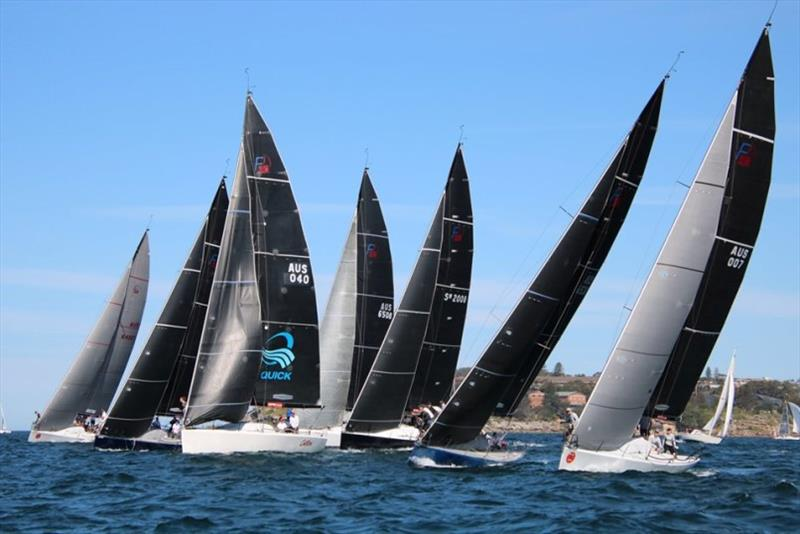 Farr 40 Class Social Regatta 2019 photo copyright Farr 40 Australia taken at Middle Harbour Yacht Club and featuring the Farr 40 class