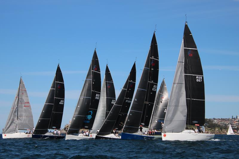 Farr 40 Class Social Regatta 2019 photo copyright Jen Hughes taken at Middle Harbour Yacht Club and featuring the Farr 40 class