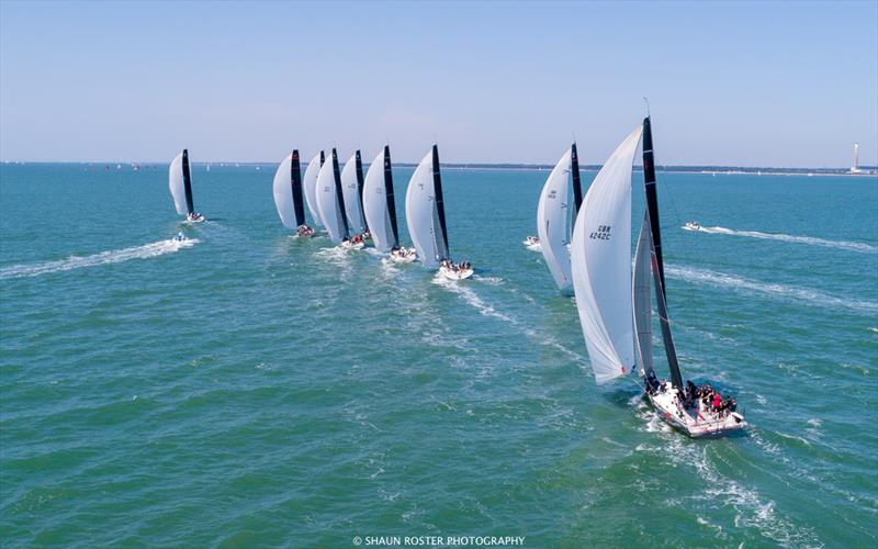 2018 FAST40+ Race Circuit Round Six in the Solent - photo © Shaun Roster Photography