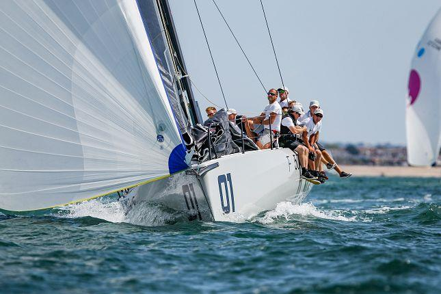 2018 FAST40+ Race Circuit Round Six in the Solent - photo © Fast 40 Class