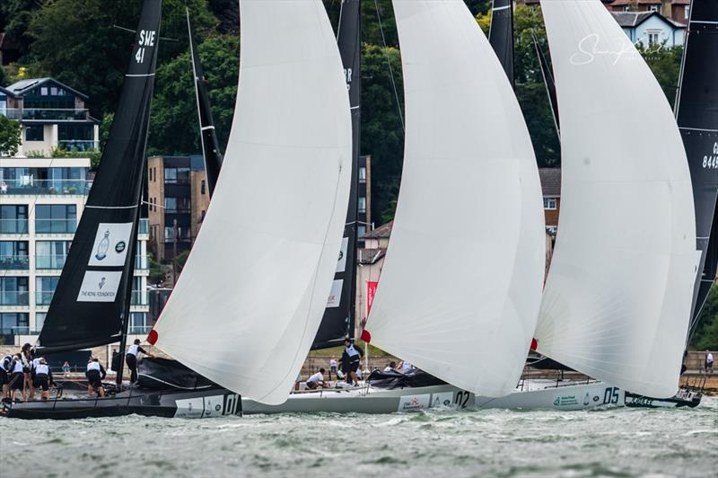 King's Cup at Cowes - photo © Sam Kurtul / www.worldofthelens.co.uk