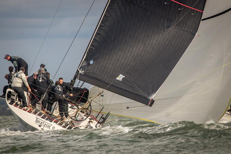 Mike Bartholomew's South African Tokoloshe II on day 2 of the 2018 Wight Shipyard One Ton Cup - photo © VR Sport Media