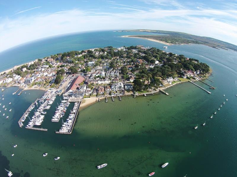 Dating back to 1905, The Royal Motor Yacht Club is hosting the FAST40  Class. With a superb panoramic vista over Poole Harbour. - photo © Royal Motor Yacht Club