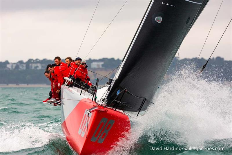 Ed Fishwick's Redshift. - FAST40  Race Circuit Round 2 - Day 2 - photo © David Harding / www.sailingscenes.com