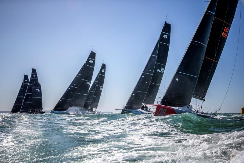 Final day - 2019 FAST40  One Ton Cup photo copyright Sportography taken at Société des Regates du Havre and featuring the Fast 40 class