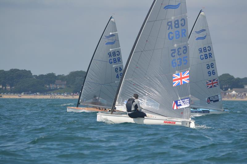 British Finn Nationals day 3 - photo © CSC
