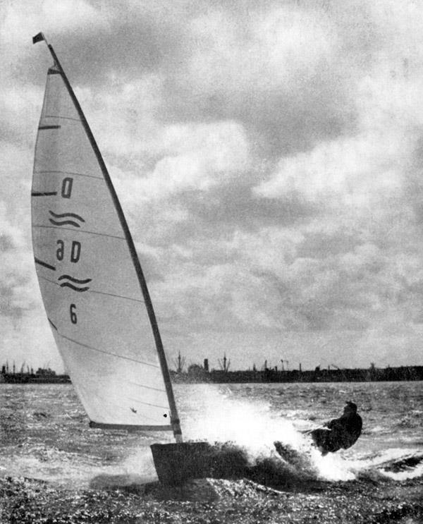 With all the hours of practice he put in, Paul was always confident of his abilities and hated it when Race Committees tried to 'pull' racing because of the wind strength! - photo © IFA