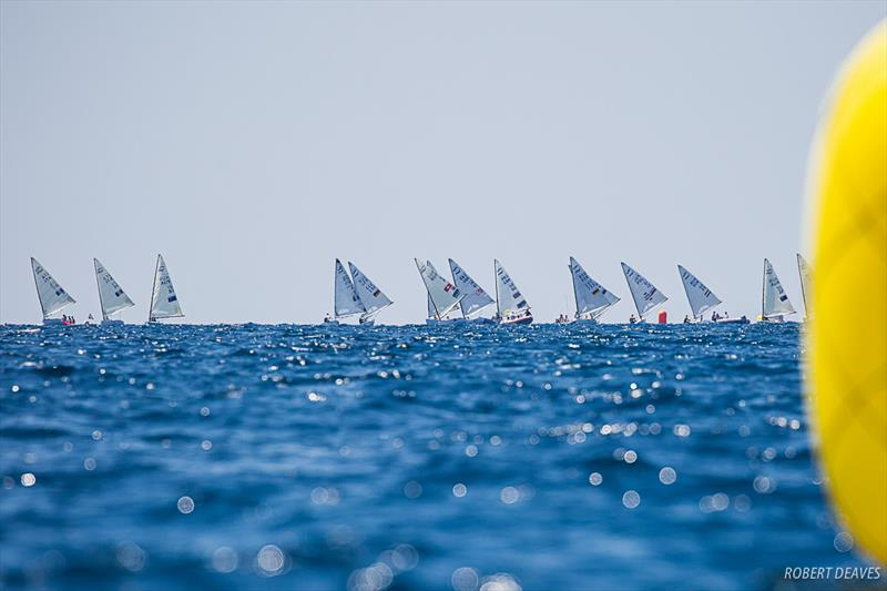 Race 11 at the Finn Silver Cup in Anzio - photo © Robert Deaves