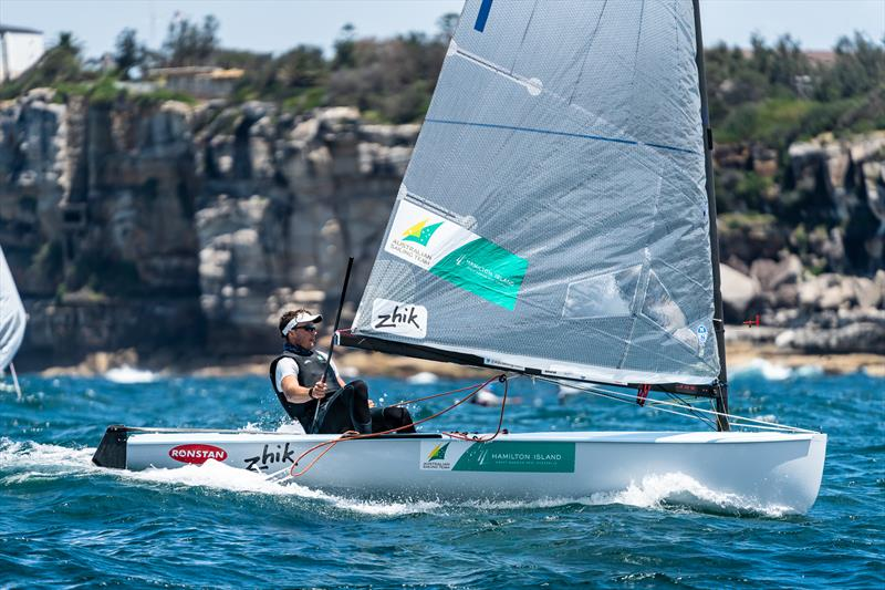 Jake Lilley at Sail Sydney - photo © Beau Outteridge / Sail Sydney