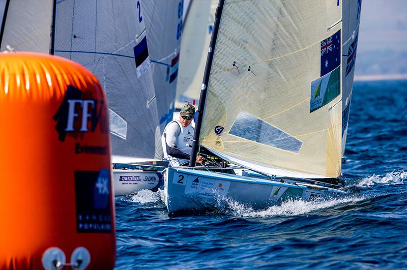Jake Lilley - 2018 World Cup Series Hyères Day 2 - photo © Jesus Renedo / Sailing Energy