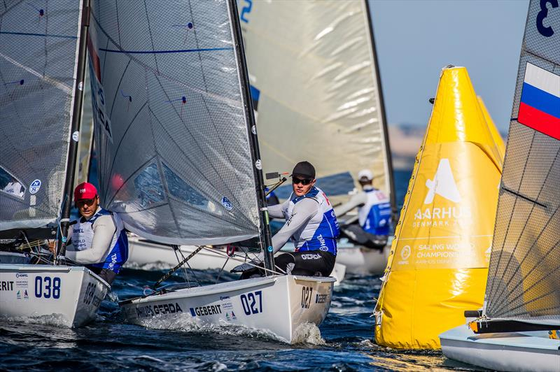 Hempel Sailing World Championships Aarhus 2018 day 1 - photo © Sailing Energy / World Sailing