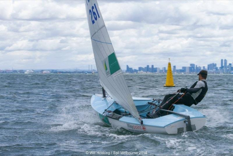 Oliver Tweddell at Sail Melbourne 2018 - photo © Will Hosking / Sail Melbourne 2018