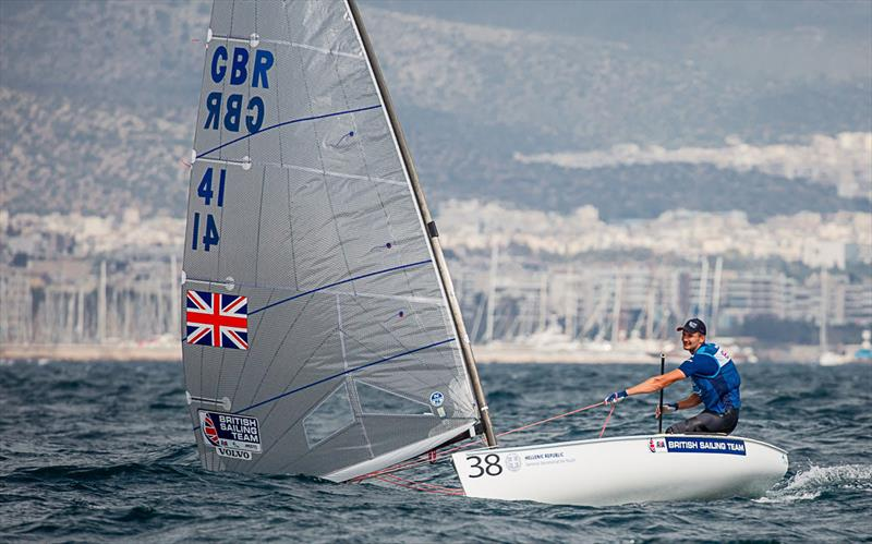 Giles Scott - 2019 Finn Open European Championship - photo © Robert Deaves