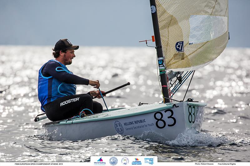 Facundo Olezza - 2019 Finn Open European Championship - photo © Robert Deaves