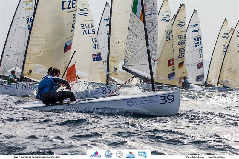 Oisín McClelland - 2019 Finn Open European Championship - photo © Robert Deaves
