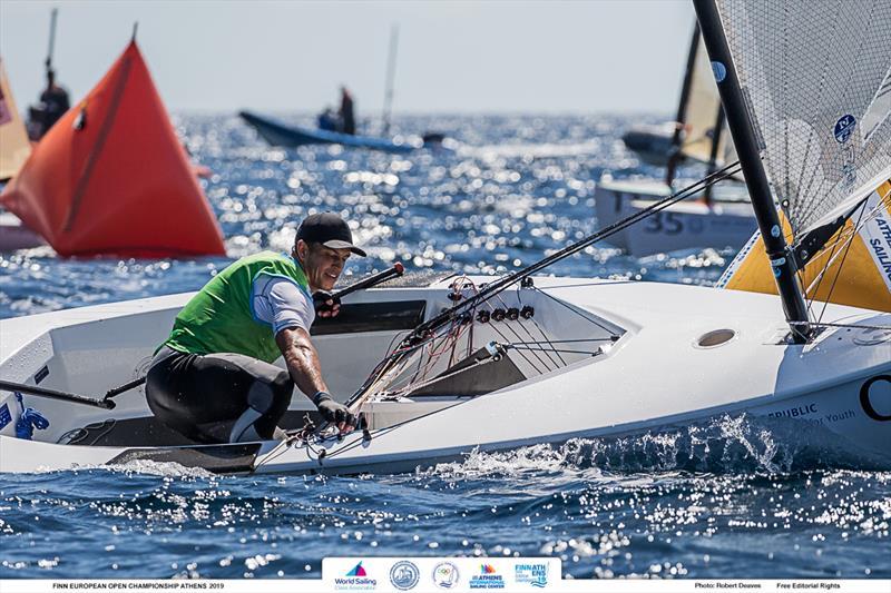 Andy Maloney - 2019 Finn Open European Championship - photo © Robert Deaves / Finn Class
