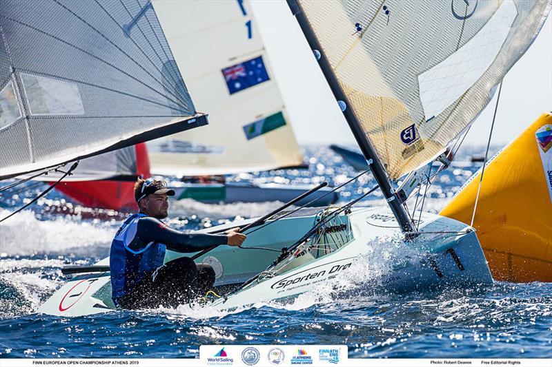 Anders Pedersen - 2019 Finn Open European Championship - photo © Robert Deaves / Finn Class