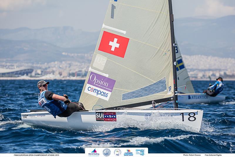 Nils Theuninck - 2019 Finn Open European Championship - photo © Robert Deaves / Finn Class