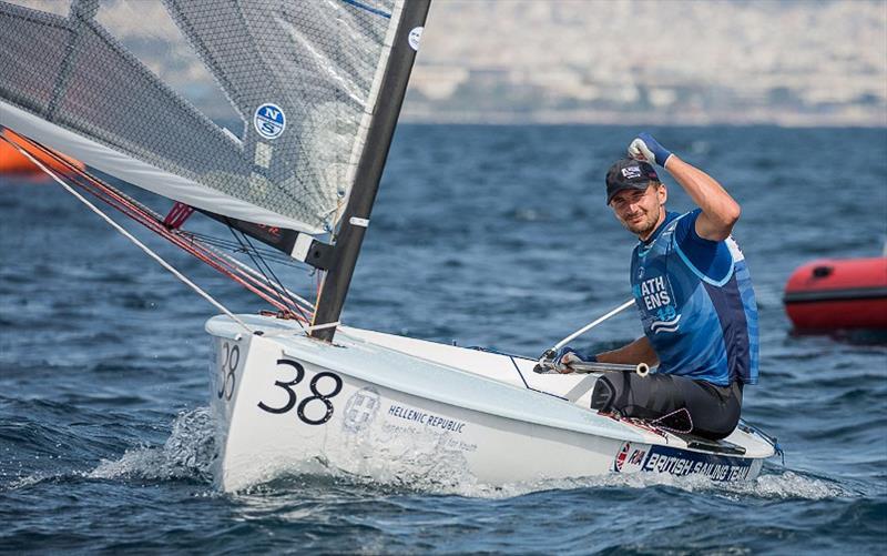 Giles Scott claims third Finn class European crown in Athens