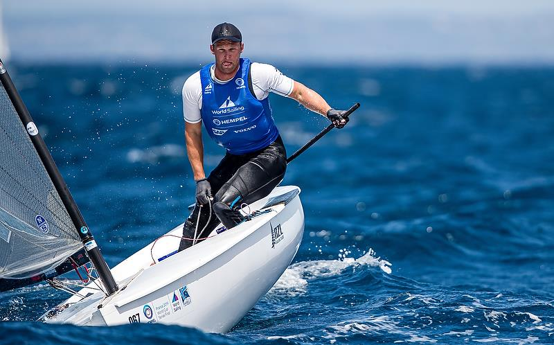 Josh Junior - Gold medalist - Finn class - Hempel Sailing World Cup Final - Marseille - June 2019 - photo © Sailing Energy