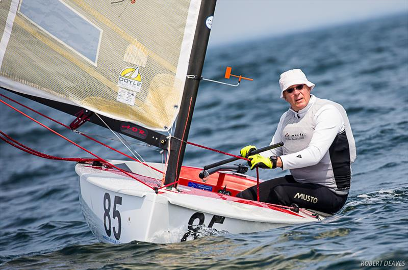 Jan Zetzema - Day 3 - 2019 Finn World Masters - photo © Robert Deaves / Finn Class