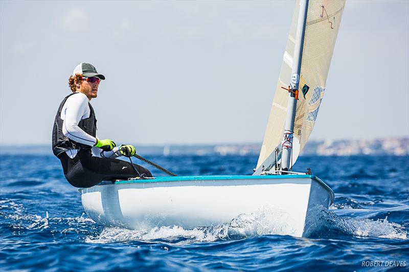Day 4 - Finn Silver Cup in Anzio - photo © Paolo Freddi - Robert Deaves