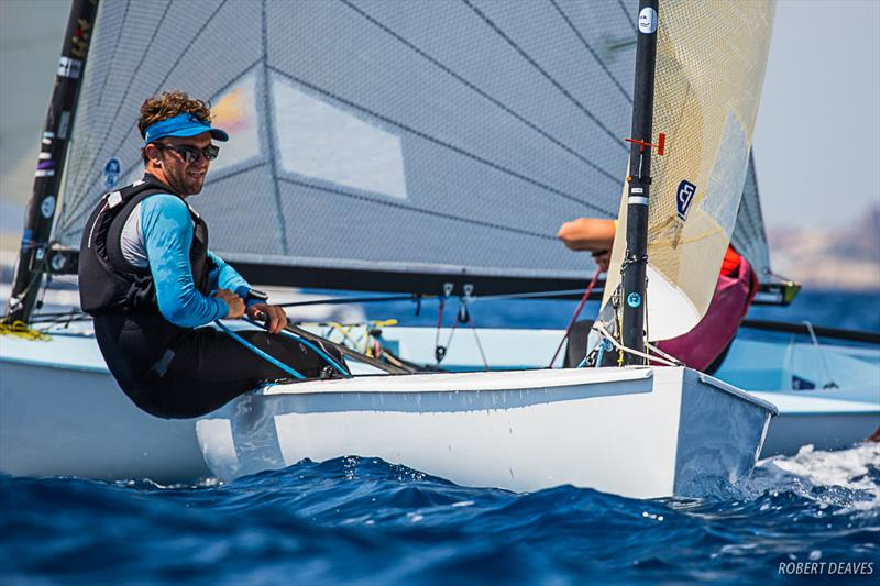 Guillaume Boisard - Day 4 - Finn Silver Cup in Anzio - photo © Robert Deaves