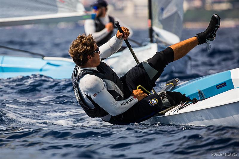 Taavi Valter Taveter - Day 4 - Finn Silver Cup in Anzio - photo © Robert Deaves