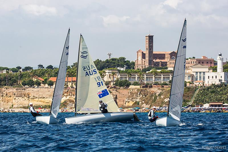 Race 10 - Day 4 - Finn Silver Cup in Anzio - photo © Robert Deaves
