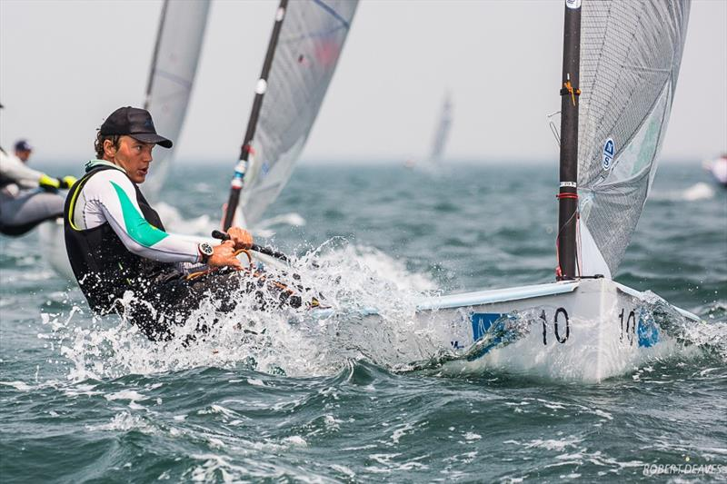 Australian Sailing Squad's Jake Lilley - 2019 Finn Gold Cup - photo © Robert Deaves