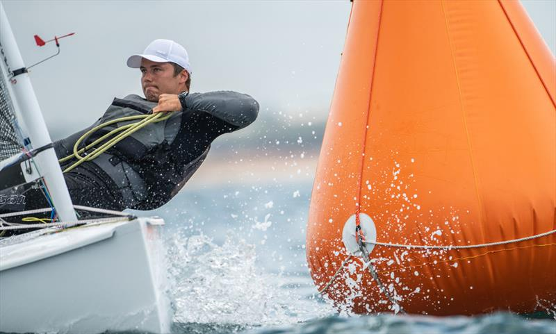 Taavi Valter Taveter, EST - 2021 Open and U23 Finn European Championship photo copyright Joao Costa Ferreira taken at  and featuring the Finn class