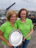 Irish Fireball Nationals at Howth - Marie Barry & Cariosa Power (IRL14854, National Yacht Club) © Frank Miller