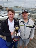 Noel Butler & Stephen Oram (IRL 15061, National Yacht Club) win the Irish Fireball Nationals at Howth © Frank Miller