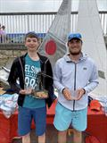 Helly Hansen Irish Fireball Championships - 3rd Overall; Daniel and Harry Thompson © Frank Miller